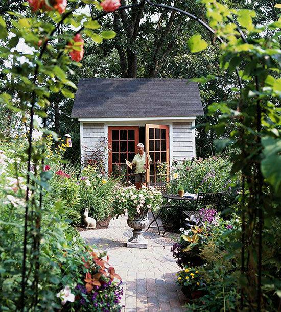 Садовые дворики. Ландшафтный дизайн  - фото 28