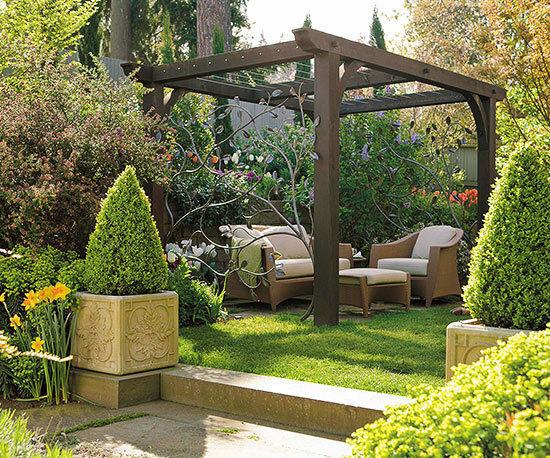Садовые дворики. Ландшафтный дизайн  - фото 32