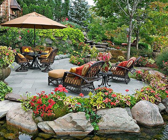 Садовые дворики. Ландшафтный дизайн  - фото 37
