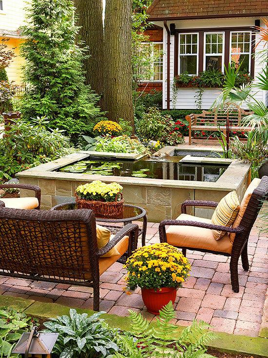 Садовые дворики. Ландшафтный дизайн  - фото 38