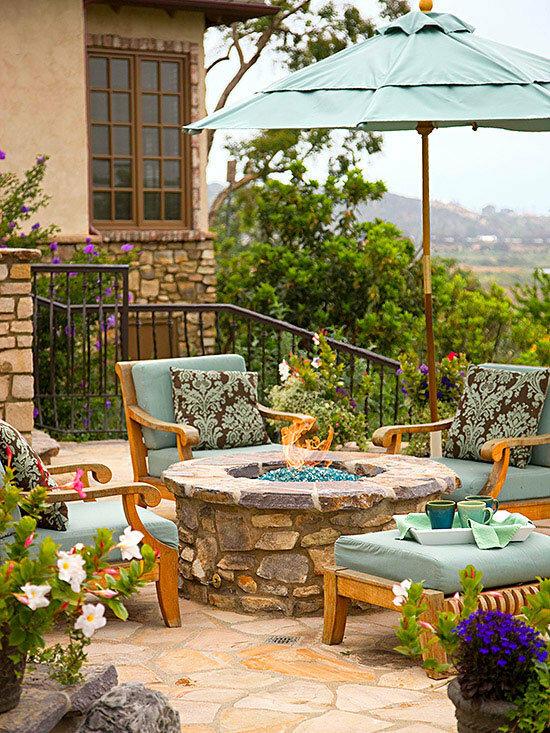 Садовые дворики. Ландшафтный дизайн  - фото 40