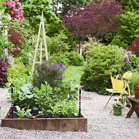 Садовые дворики. Ландшафтный дизайн  - фото 42