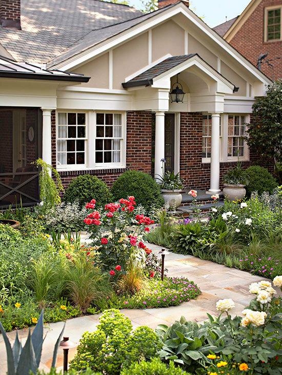Садовые дворики. Ландшафтный дизайн  - фото 51