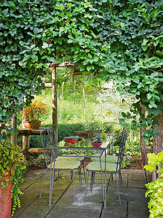 Садовые дворики. Ландшафтный дизайн  - фото 7