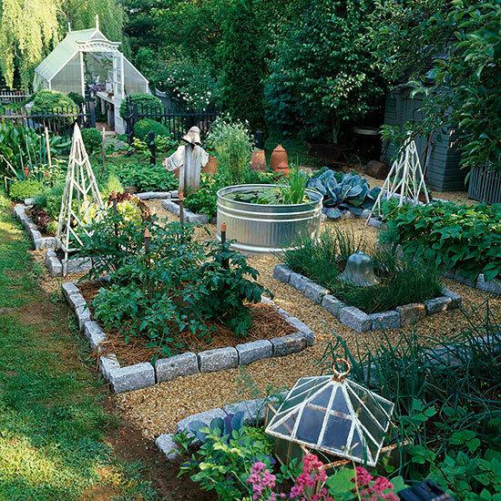 Садовые дворики. Ландшафтный дизайн  - фото 13