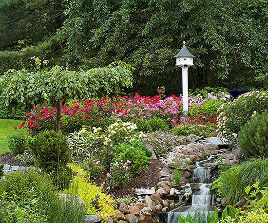 Садовые дворики. Ландшафтный дизайн  - фото 15