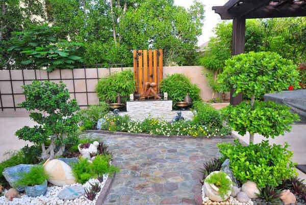 Садовые дворики. Ландшафтный дизайн  - фото 16