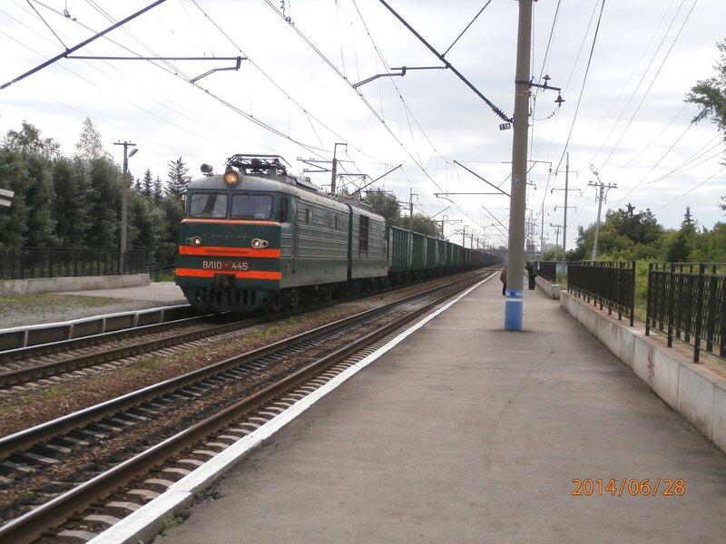 Электровоз ВЛ10-445 (2)