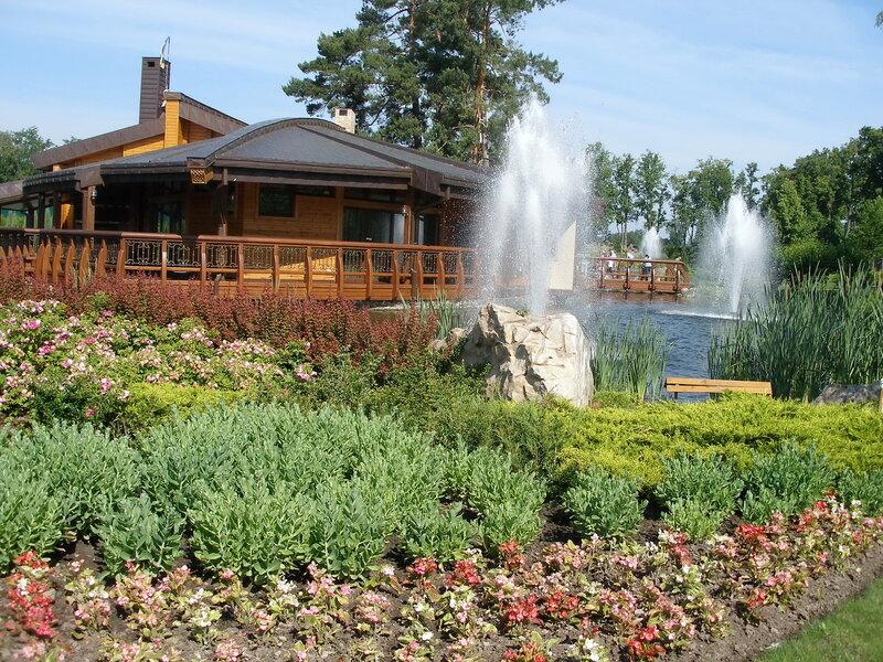 фонтаны бани