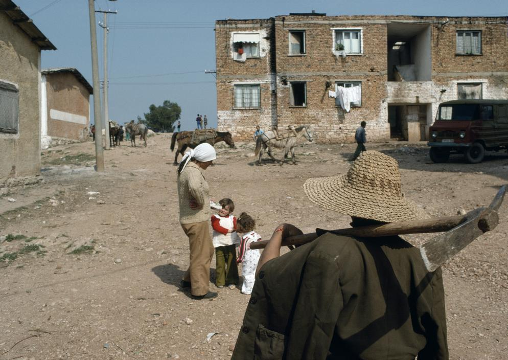 1990 Albania  Ksamil. 1500 people lived and worked on this state farm.jpg