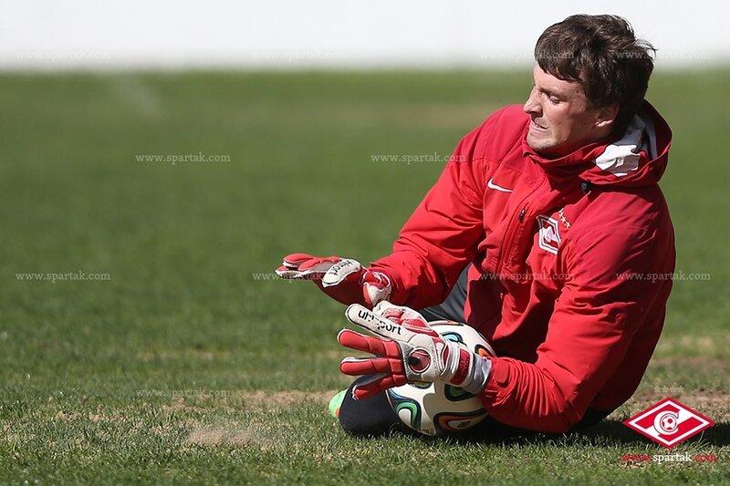 Подготовка «Спартака» к матчу с «Кубанью»