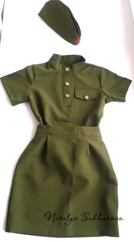 Платье на 9 мая девочке