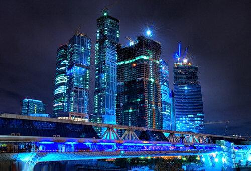 В «Москва-сити» башню «Россия» заменят два скромных небоскреба