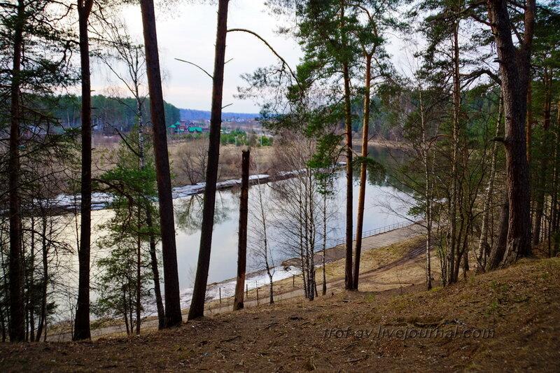 Москва-река, Санаторий имени Герцена