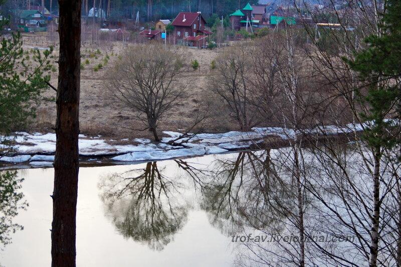 Отражение в Москве-реке, Санаторий имени Герцена