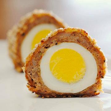 Яйца по-шотландски - отличное блюдо