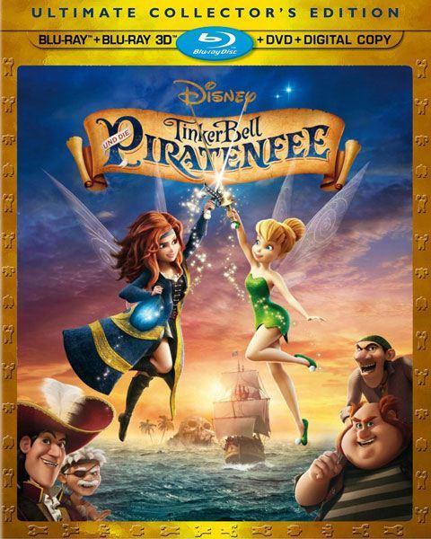 Феи: Загадка пиратского острова / The Pirate Fairy (2014) BD-Remux + BDRip 1080p + 720p + HDRip