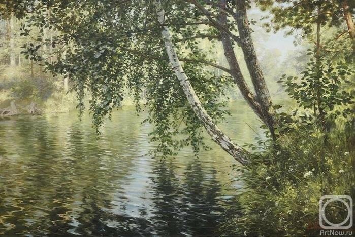 Картины на тему «Родная природа» (художник Владимир Александров)