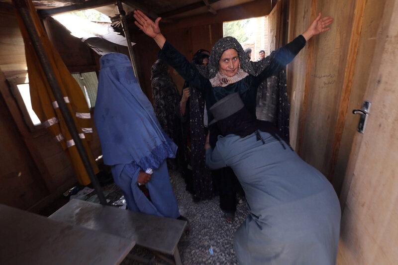 AFGHANISTAN ELECTIONS PREPRATIONS