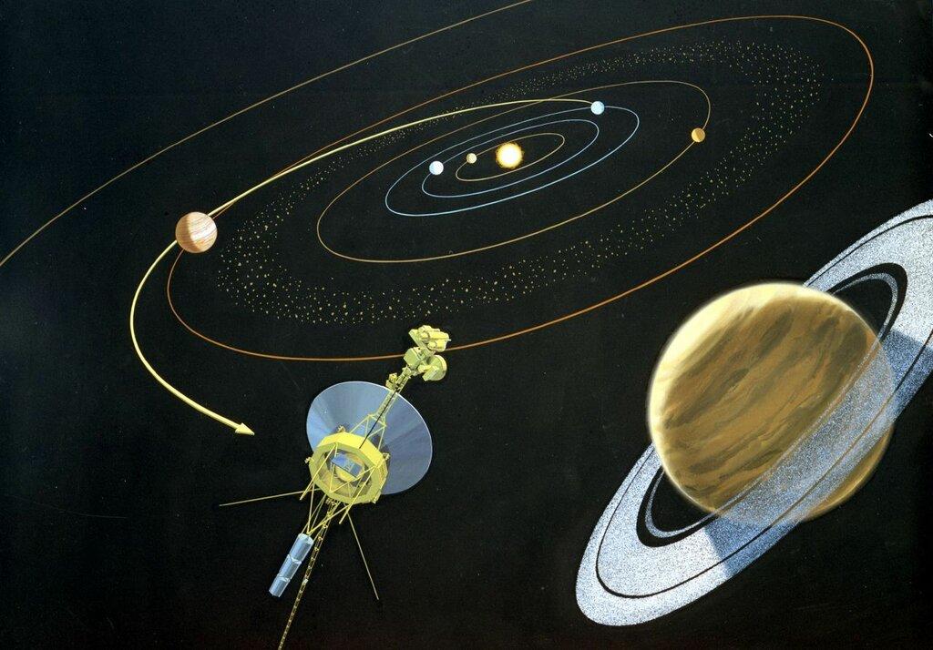 Gaia уточнил будущие сближения со звездами аппаратов «Пионер» и «Вояджер»