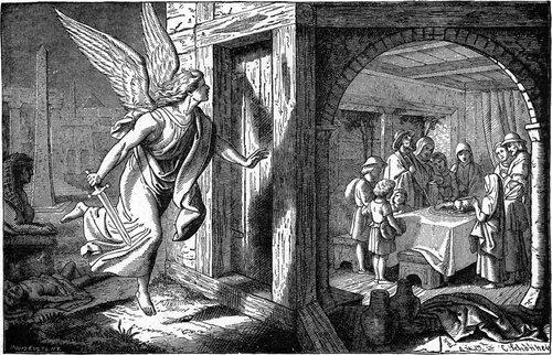«Ангел смерти» принюхивается к двери с бараньей кровью и проходит мимо.