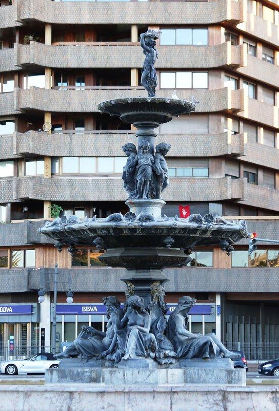 Валенсия, фонтан