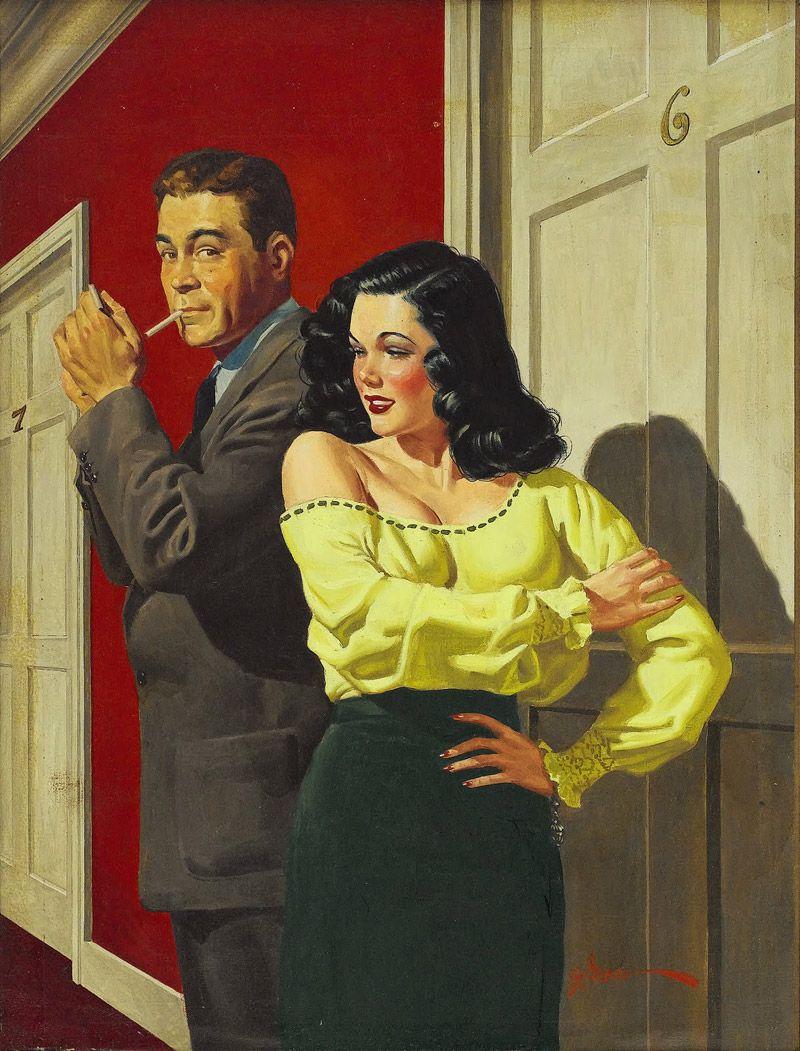 Эротизм на уровне криминала от George Gross