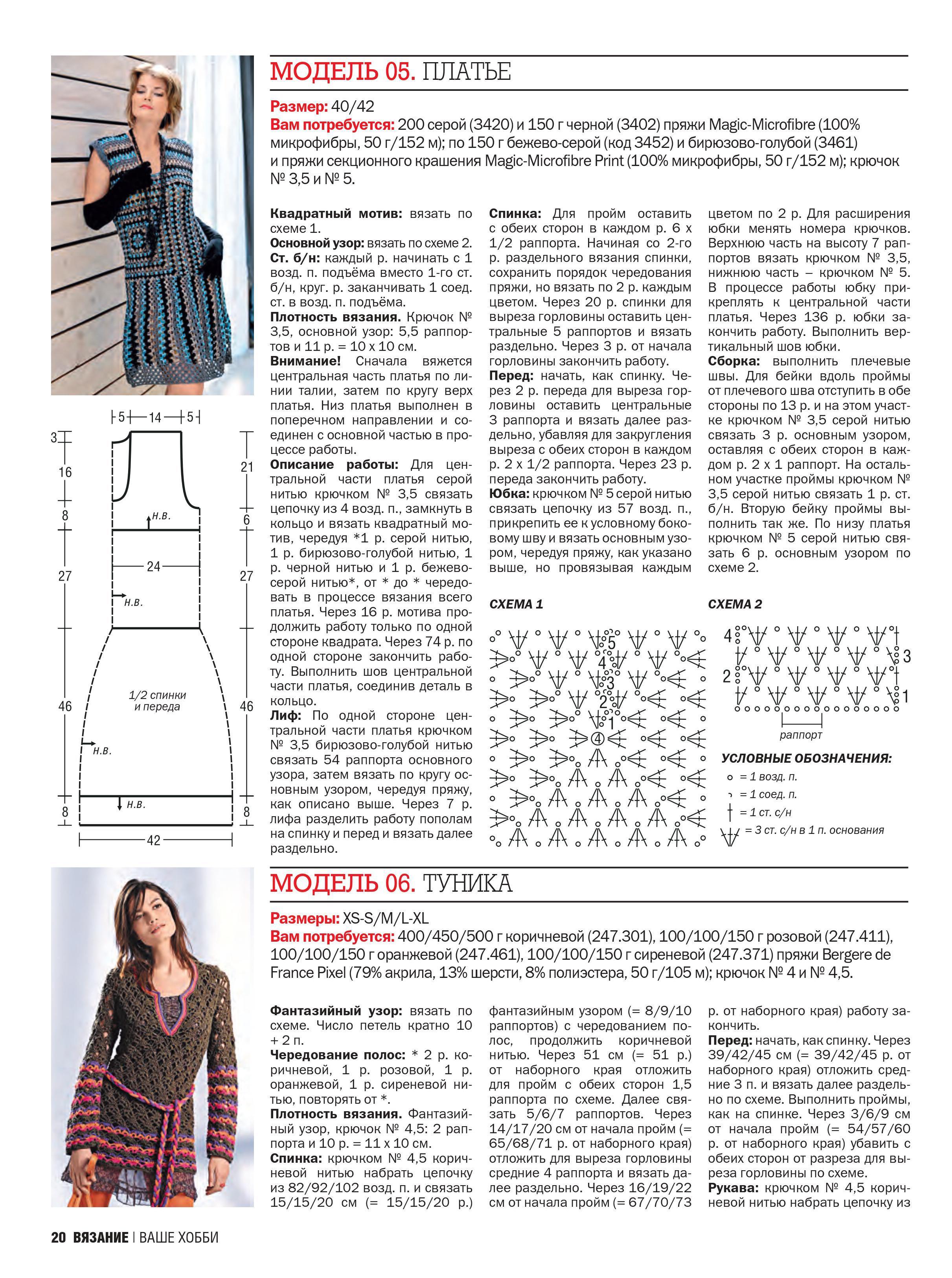 Вязание ваше хобби платье