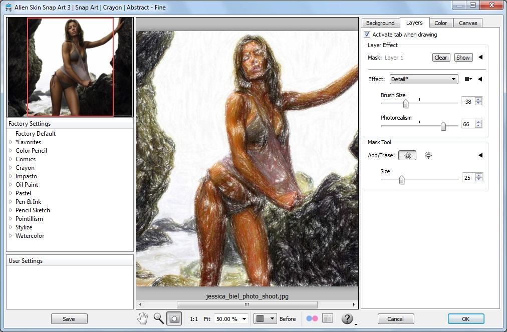 Alien Skin (Blow Up Bokeh Exposure Eye Candy Image Doctor Snap Art Splat!