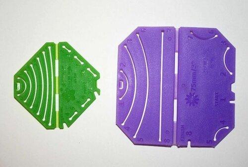 Шаблоны для изготовления цветов канзаши