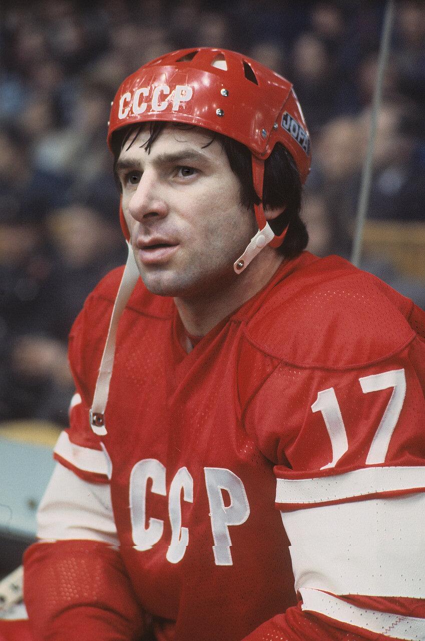 Хоккеист Валерий Харламов, 1976 год