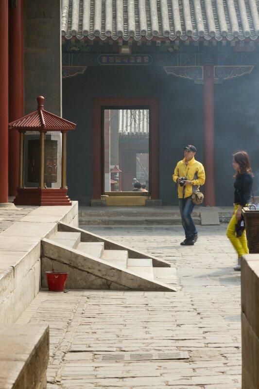 Монастырский двор, монастырь Юнхэгун, Пекин