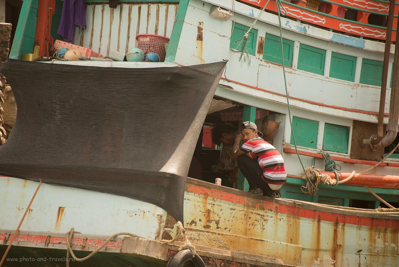 Фотография 8. Путешествие по Таиланду самостоятельно. Отзывы туристов об экскурсии в рыбацкую деревню рядом с городом Чумпхон. На ремонте (320, 230, 5.3, 1/800)