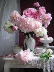 Встречаем утро с белым и розовым
