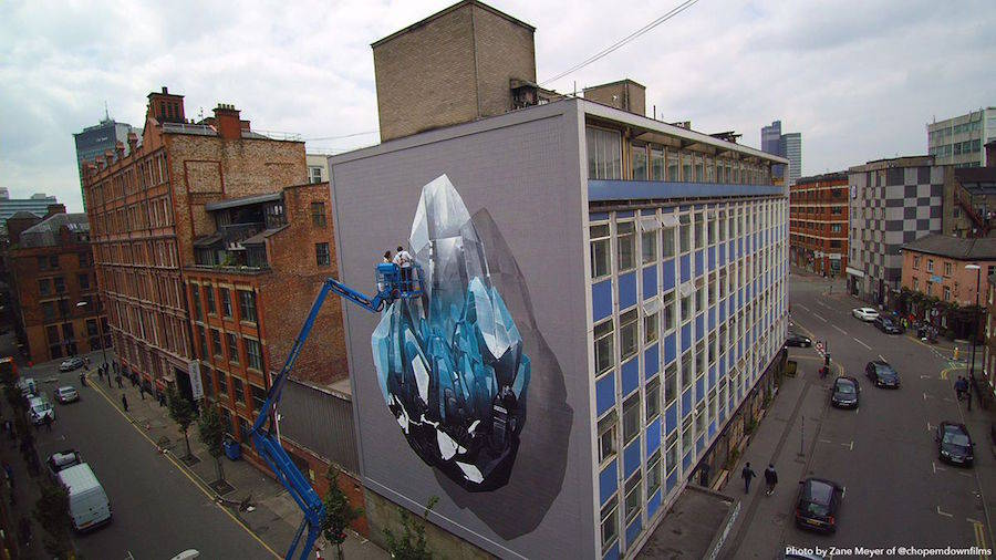 Stunning Mural in the Streets of Manchester