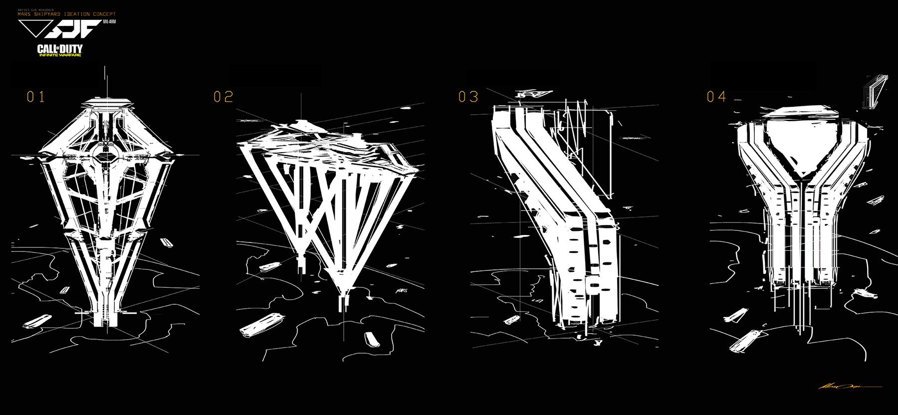 Call of Duty: Infinite Warfare Concept Art by Gustavo Mendonca