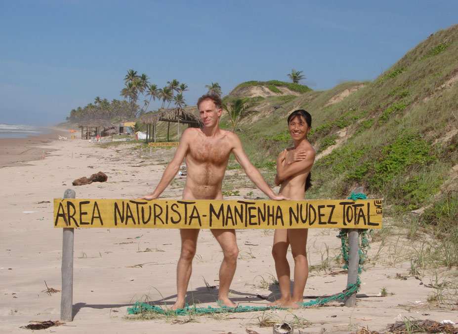 Massarandupio Beach, Баия, Бразилия - десять лучших нудистских пляжей мира / Ten Best Nude Beaches in the World