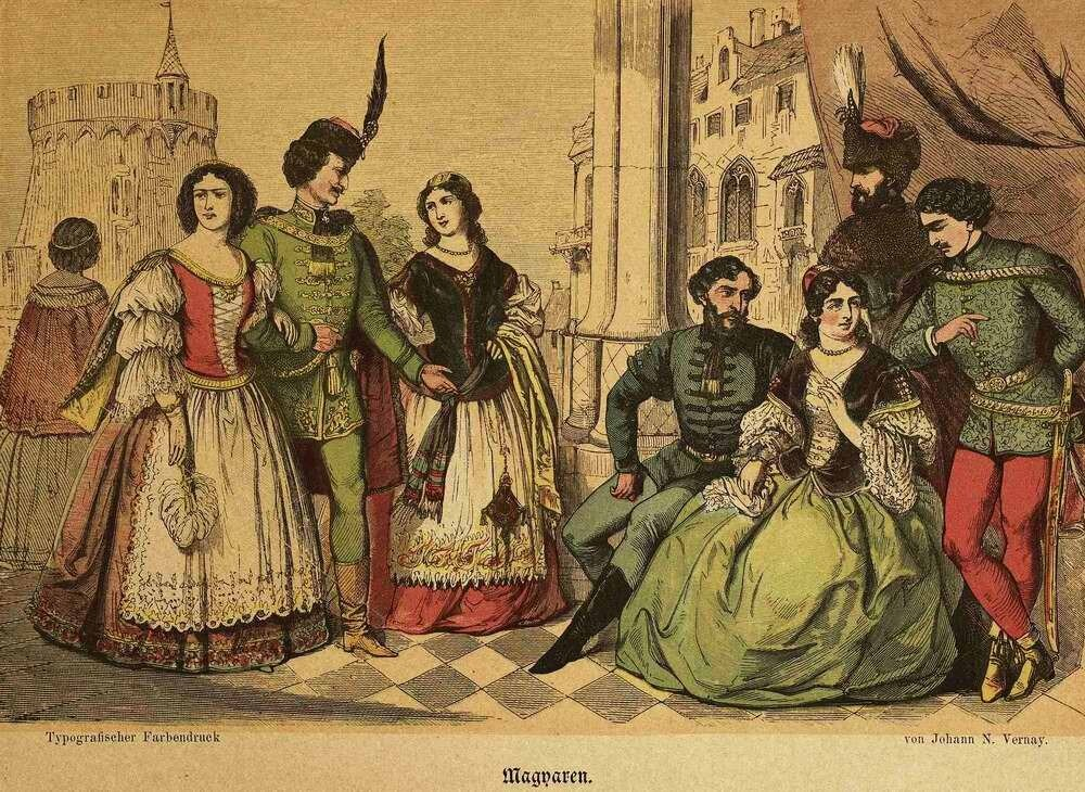 Народы Австро-Венгерской империи - Венгры