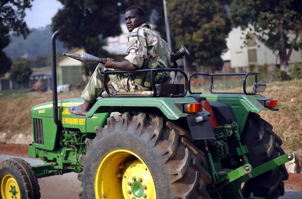 Африканский тракторист