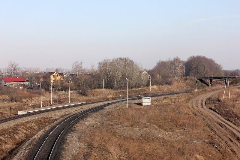 Платформа 168 км