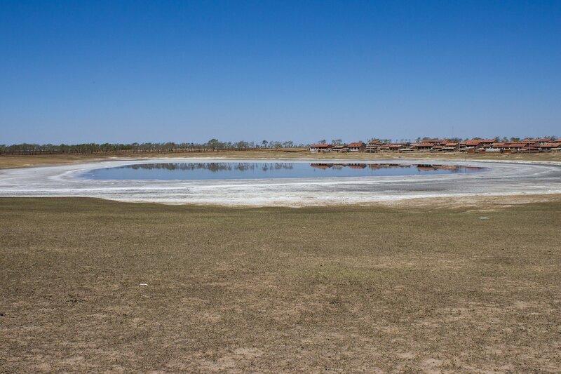 соленое озеро во внутренней монголии, китай
