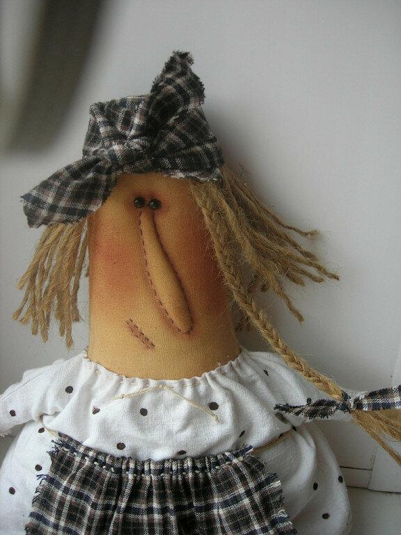 портрет куклы бабы с ключом