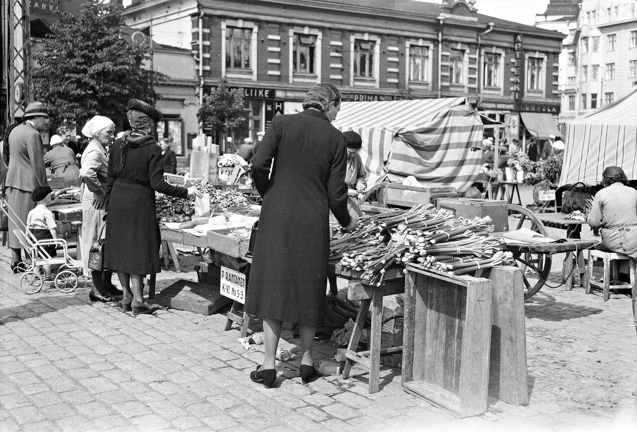 1941. 20 июня. Овощной рынок