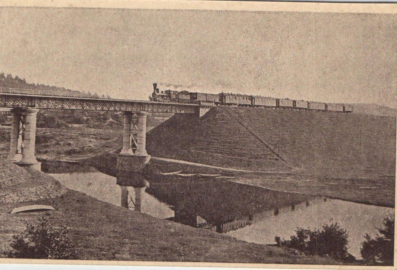Железнодорожный мост на реке Вильна