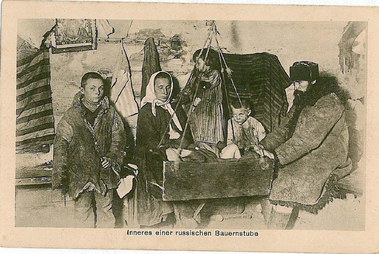 Русские типы. Комната в крестьянском доме
