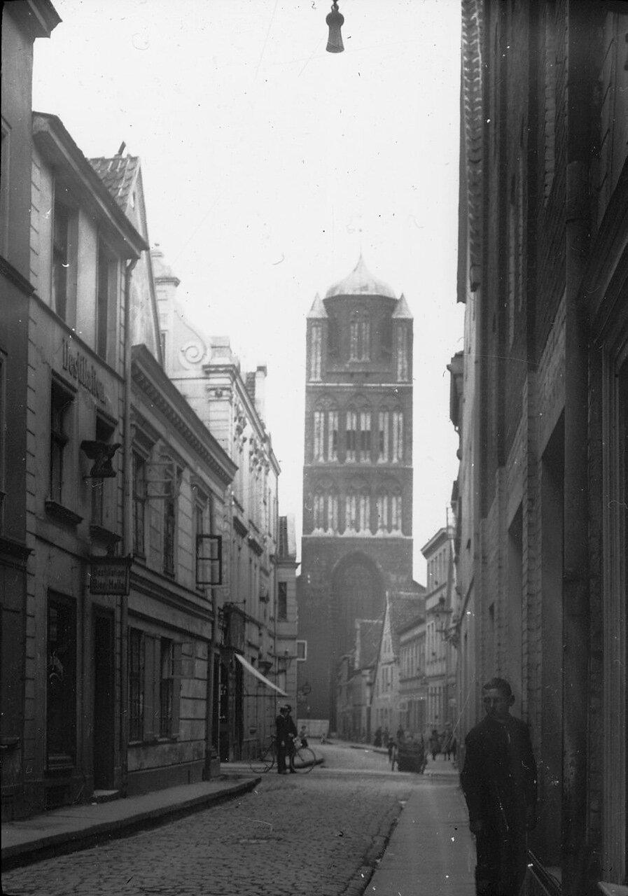 Штральзунд.  Церковь Св. Якоби. 1912