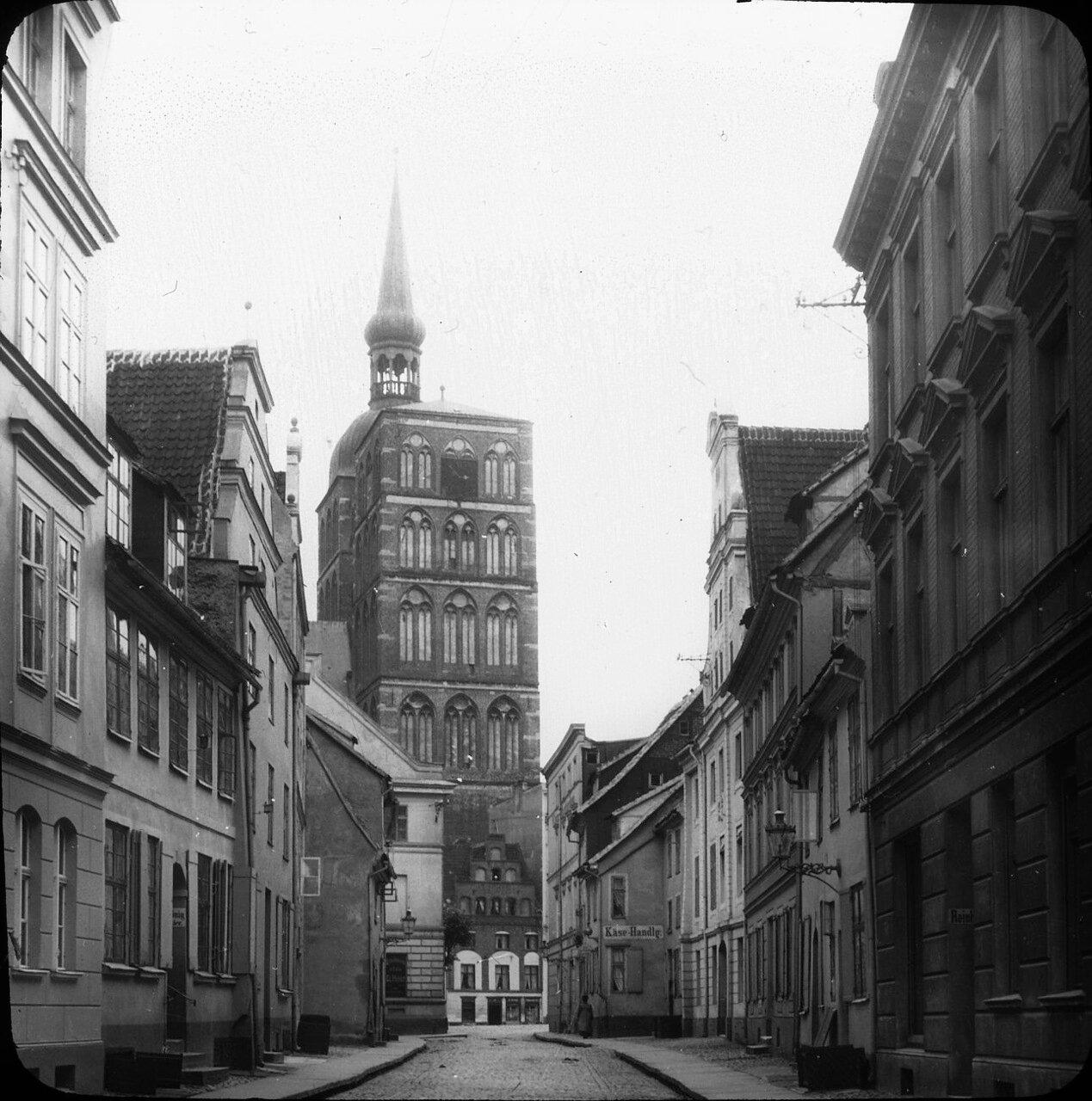 Штральзунд. Церковь Св. Николая, 1912.