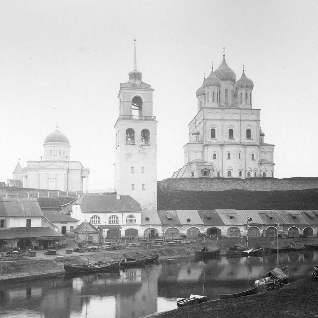 Троицкий собор. Вид со стороны рыбьего торга