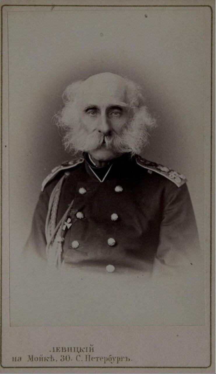 Федор Петрович Литке (17 сентября (28 сентября) 1797, Санкт-Петербург — 8 августа (20 августа) 1882, Санкт-Петербург) — русский мореплаватель, географ, исследователь Арктики, генерал-адъютант, адмирал (1855), президент Академии Наук в 1864—1882
