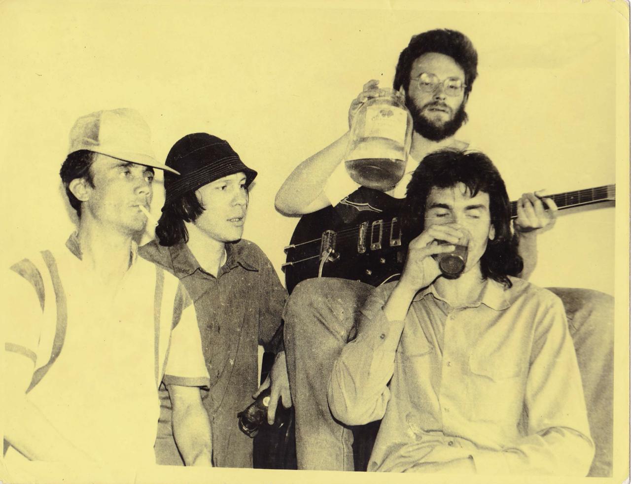 1992. Перед фестивалем в Усолье с группой «Флирт»